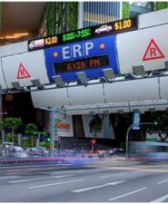 Electronic Road Pricing in Singapore